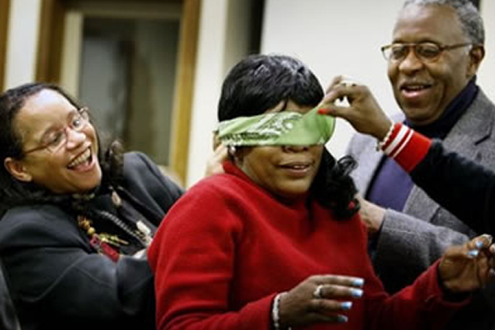Thumbnail to Free Team Building Activity: Blindfold Square